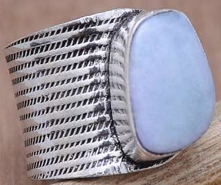 LIQUIDATION JEWELRY SALE LARIMAR SILVER JEWELRY RING SIZE ADJUSTABLE