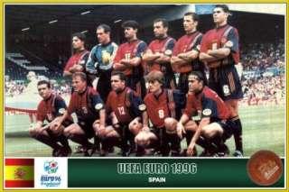 FERNANDO RUIZ HIERRO JERSEY SHIRT NO MATCH WORN EURO CUP 1996