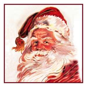 Father Christmas Santa Claus #16 Counted Cross Stitch Chart