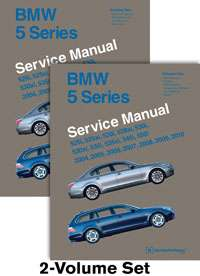 BMW E60 5 Series 04 2010 525 528 530 545 550 Service Repair Manual