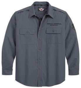 Mens Harley Davidson Long Sleeve Shirt. 96595 12VM