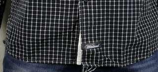 ENGLISH LAUNDRY weiland mens TOTLEY black Plaid shirt