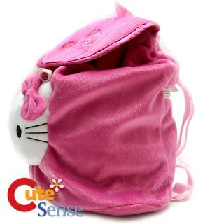 Sanrio Hello Kitty Pink Rose 10 Plush Backpack/Bag