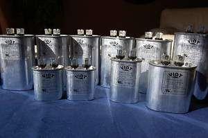 Set 10 Compressor Fan Motor Run Capacitors 5 50MFD HVAC