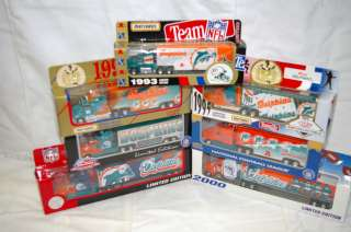 DOLPHINS Metal Die cast Truck Trailer Collectibles 1993 TO 2003