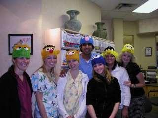 Boutique CUSTOM Crochet Sesame Street GROVER Hat Beanie