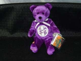 NEW Purple Christian Religious Movie Bear Left Behind