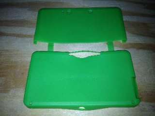 Neon Green Soft Silicone Case Cover skin for Nintendo 3DS 886571422614