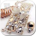 gold 3d bling crystal gem hard skin case $ 19 99  see