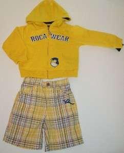 Baby boys Rocawear lot Jacket shorts shirt, 18 mos, NWT