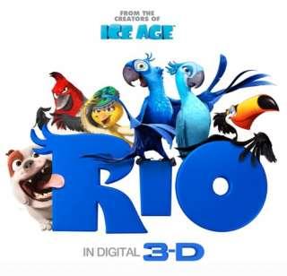 doll The 3D Movie Rio JEWEL + BLU plush cartoon stuffed toy 8.5 New