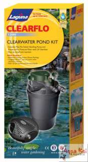 LAGUNA 12000 CLEARFLO UV POND FILTER & WATER PUMP KIT