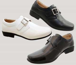 Boys Communion Wedding Page Boy School Paen or Ma Shoes Size 8   2