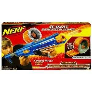 NEW Nerf N Strike Raider Rapid Fire CS35 dart blaster