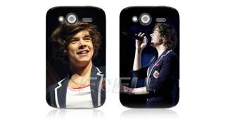 Styles One Direction 1D Snap Hard Plastic Back Case for HTC Wildfire S
