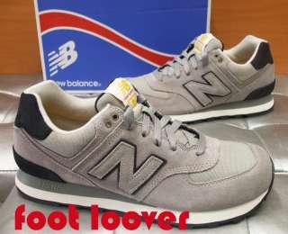 Scarpe New Balance 574 ML574WKG uomo vintage sneakers casual moda grey