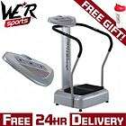 CRAZY FIT MASSAGE POWER VIBRATION PLATE NEW 2011 MODEL