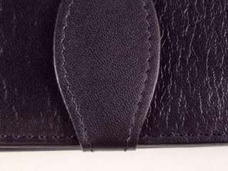 Black Triple Leather Pen Case. Suits Waterman & Parker