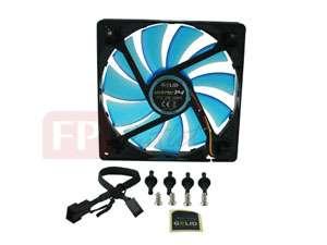 GELID WING 14 cm 140mm Silent UV Blue PC Case Fan Gamer
