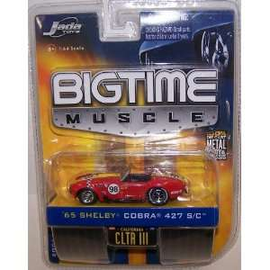 Jada Toys 1/64 Scale Diecast Big Time Muscle 1965 Shelby