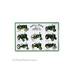John Deere Eight Tractors Metal Sign: Home & Kitchen