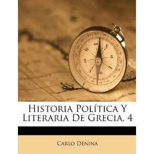 Historia Política Y Literaria De Grecia, 4 (Spanish