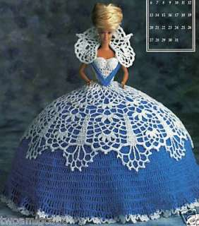 Annie Potter Crochet Fashion 11.5  Doll Dress Pattern