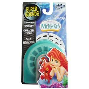 ViewMaster Disney Little Mermaid 3 Super Sounds Reels