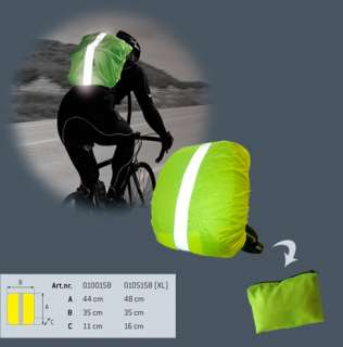 New Wowow Hi Vis Reflective Bike / Cycling Bag Cover