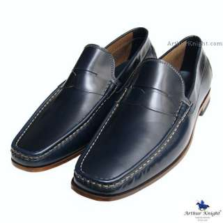 NEW* Mens CHURCHS SHOES BLUE SUEDE LOAFERS 10 F