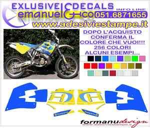 KIT ADESIVI DECAL HUSQVARNA WR 250