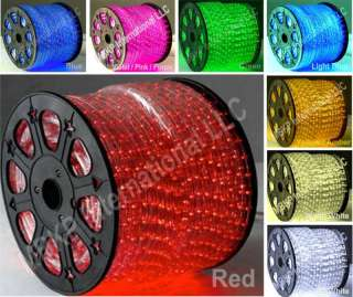 RED LED Rope Lights Home Auto Neon Lighting   Christmas