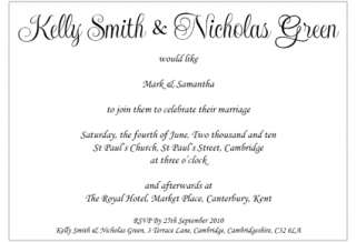 Sienna Mai Invitations items   Get great deals on Wedding Fonts and