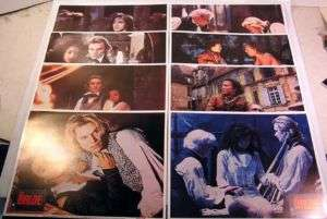 Set of 8 Lobby Cards 1985 THE BRIDE Jennifer Beals