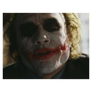 Joker!! HEATH LEDGER Dark Knight / Batman UNSIGNED 8X10