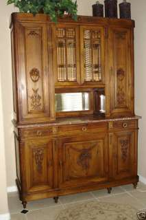 ANTIQUE FRENCH LOUIS XVI SIDEBOARD BUFFET CABINET ~ CUPBOARD ~ CABINET