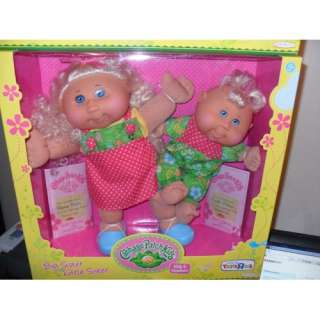 Patch Kids & Newborn Big Sister Little Sister Dolls: Toys & Games