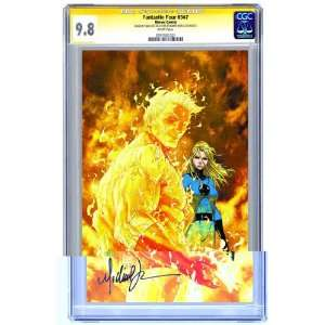 Four #547 Signed by Michael Turner CGC Signature 9.8: Toys & Games