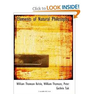 ) William Thomson, Peter Guthrie Tai, William Thomson Kelvin Books