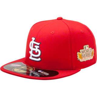 St. Louis Cardinals New Era Red Official 2011 World Series 59FIFTY On