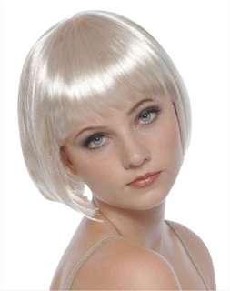 1950s / Short Blonde Bob Adult Wig