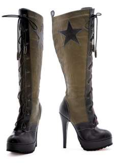Womens Military Boots   Sexy Army Boots
