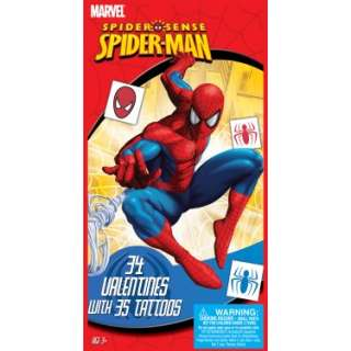 Halloween Costumes Spider Man Valentines Day Cards and Tattoos