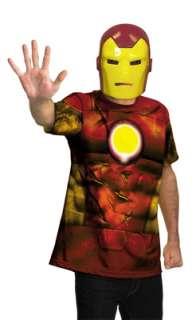 Marvel Universe Iron Man Shirt Child/Adult Costume for Halloween