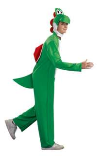 Super Mario Brothers Yoshi Adult Costume for Halloween   Pure Costumes