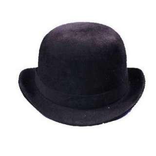 Black Felt Derby Hat   Charlie Chaplin Costume Hats   15GA102