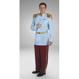 Adult Prestige Prince Charming Costume   Classic Disney Costumes