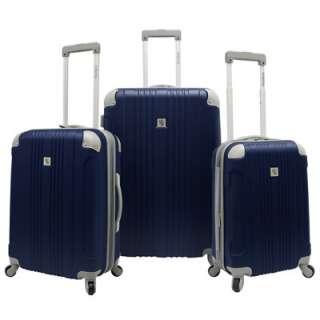 Beverly Hills Country Club Malibu 3 Piece Luggage Set   Navy (BH6800N