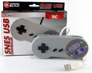New Retro Super Nintendo SNES USB PC Controller