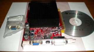 ExpressVideo Card + WinXP/WinVista Driver CD + DVI to VGA Adapter
